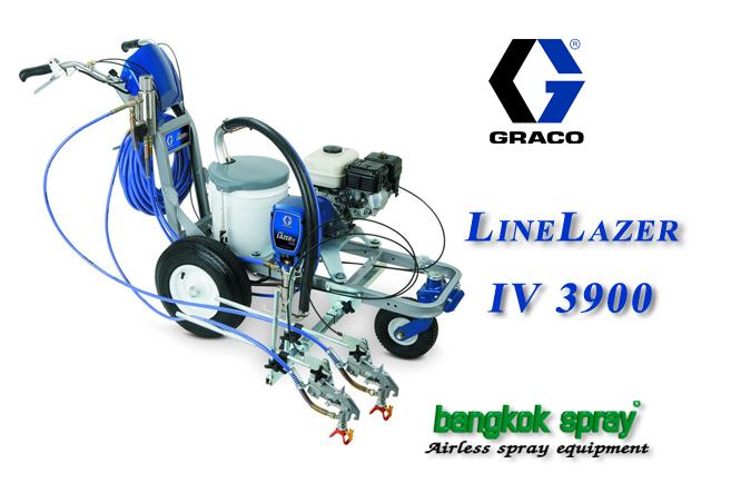 เครื่องพ่นสีจราจร LineLazer IV 3900