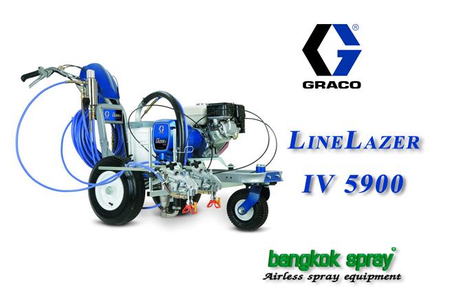 เครื่องพ่นสีจราจร LineLazer IV 5900