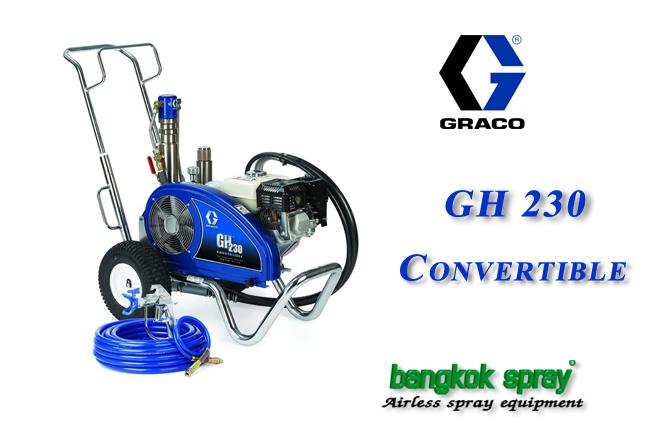 เครื่องพ่นสี Graco GH 230 Convertible