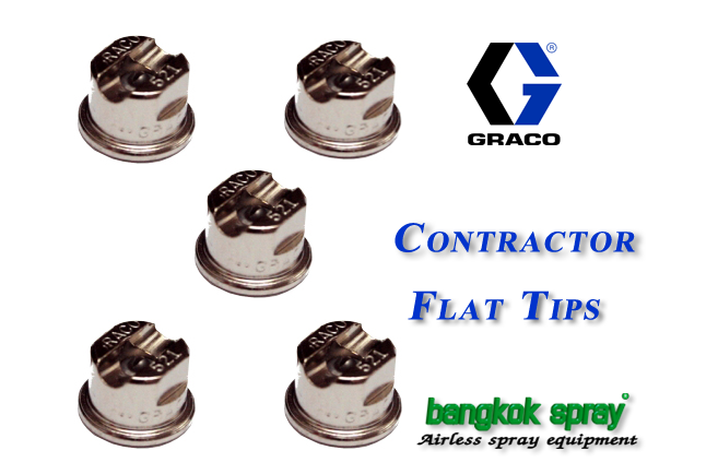 Graco Contractor Flat Tips